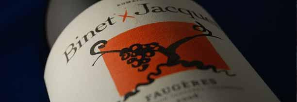 Faugères 2008 - Domaine Binet-Jacquet